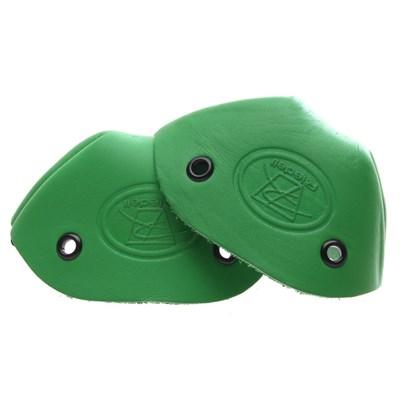 Leather Toe Caps - Green
