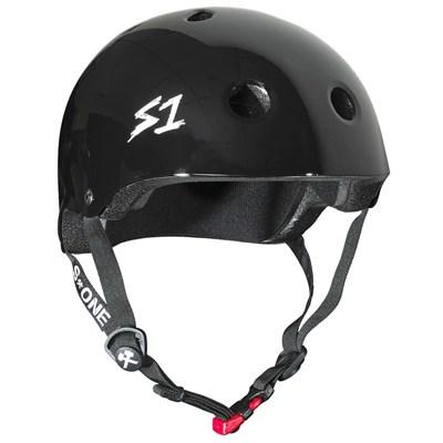Mini Lifer Helmet - Black Gloss