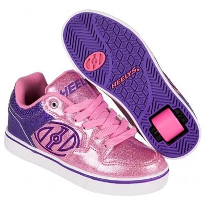 Motion Plus Purple/Pink Glitter Heely Shoe