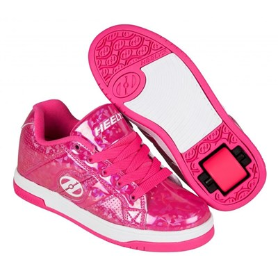 Split Pink/Hologram Kids Heely Shoe