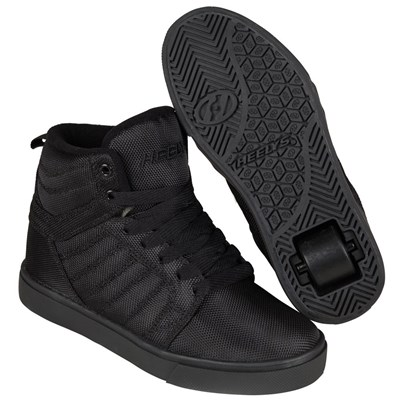 Uptown Black/Ballistic/Nylon Kids Heely Shoe