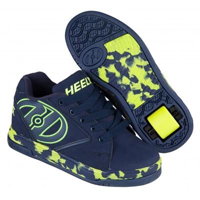 Propel 2.0 Navy/Lime/Confetti Kids Heely Shoe