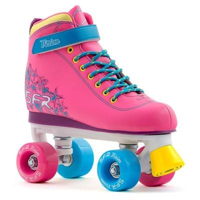 Vision II Tropical Pink Kids Quad Roller Skates