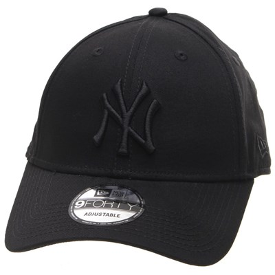 MLB League Essential 9FORTY Cap - NY Yankees Black/Black