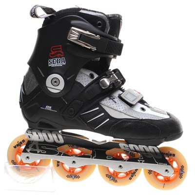 High 07 Slalom Inline Skate - Black/White