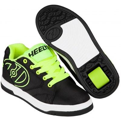 Propel 2.0 Black/Bright Yellow/Ballistic Kids Heely Shoe