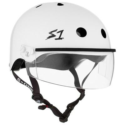 Lifer Helmet inc Visor - White Gloss