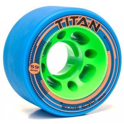 Titan 92a Roller Derby Skate Wheels - Teal