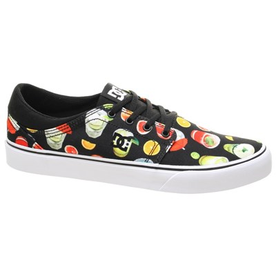 Trase SP Black/Graffiti Print Shoe