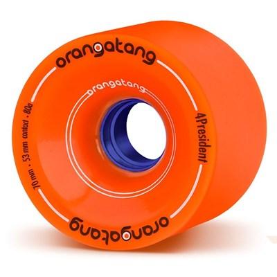 4President Longboard Wheels - Orange