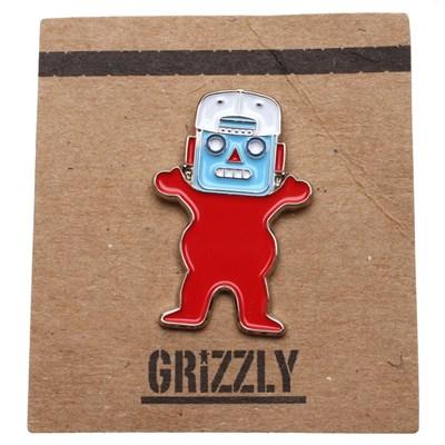 Robo Bear Pin Badge