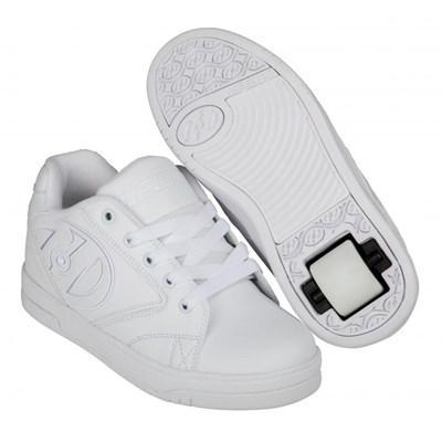 Propel 2.0 White/White Kids Heely Shoe