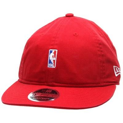 NBA Logo Low Profile 9FIFTY Strapback - Scarlet