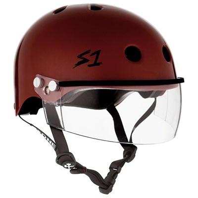 Lifer Helmet inc Visor - Red Gloss