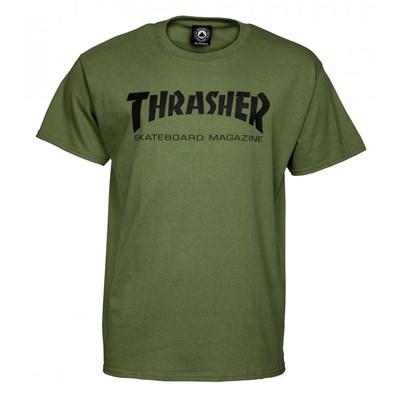 Skate Mag S/S T-Shirt - Army Green