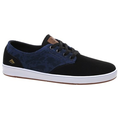 The Romero Laced Black/Blue Shoe