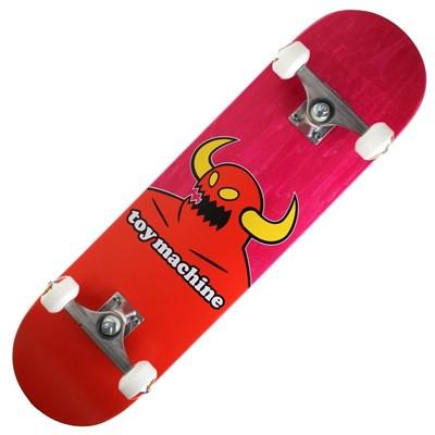 Monster 8inch Complete Skateboard