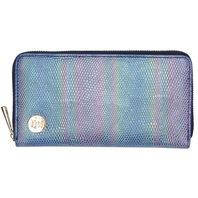 Zip Purse - Mermaid Blue