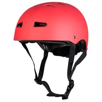 Multisport Matt Red Dial Fit Helmet