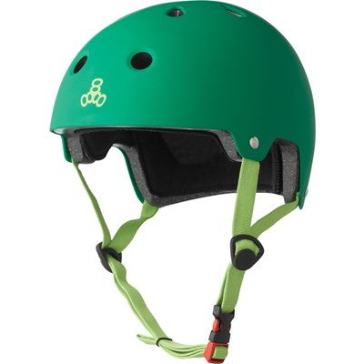 Dual Certified (FKA Brainsaver) Helmet - Kelly Green Matte