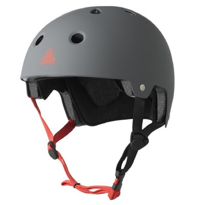 Brainsaver Helmet - Gun Grey Rubber