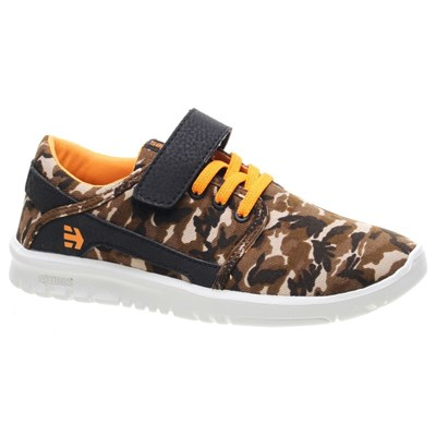 Scout V Kids Brown/Camo Shoe