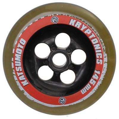 Katsumoto 145mm Race Wheel - Clear/Red