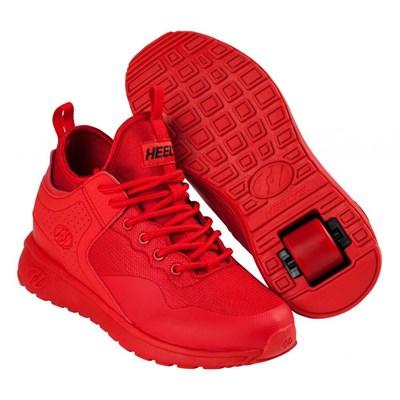 Piper Triple Red Kids Heely Shoe
