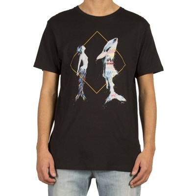 Pangea See Vexta S/S T-Shirt - Black