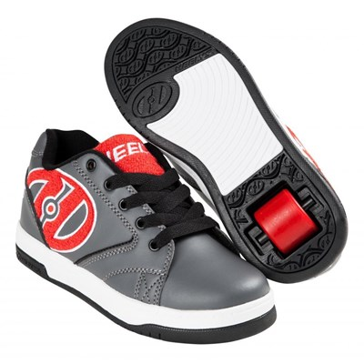 Propel Terry Grey/Red/Terry Logo Heely Shoe