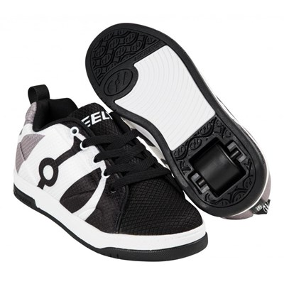Repel Black/Charcoal/White Heely Shoe