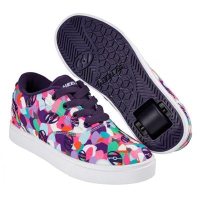 Launch Grape/Multi Kids Heely Shoe