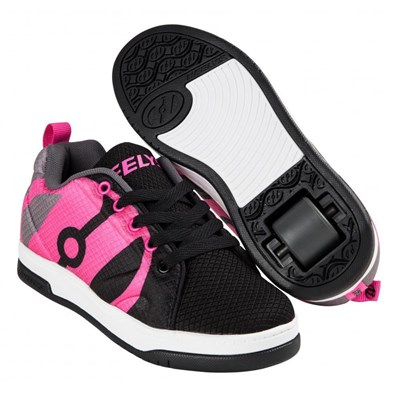 Repel Black/Charcoal/Hot Pink Heely Shoe