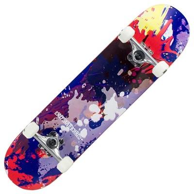 Splat Red/Blue 7.75inch Complete Skateboard