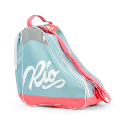 Script Ice/Roller Skate Carry Bag - Teal/Coral