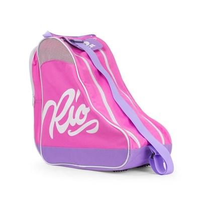 Script Ice/Roller Skate Carry Bag - Pink/Lilac