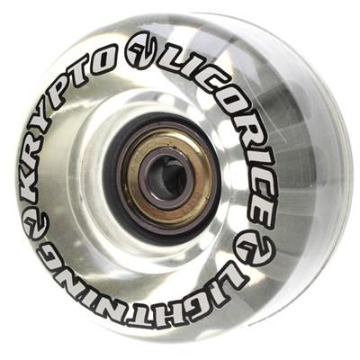 Licorice Lightning Roller Skate Wheels with Bearings
