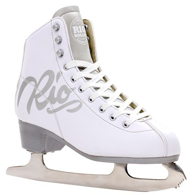 Script Ice Skates - White