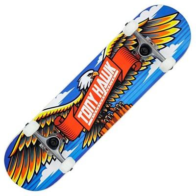 180 Signature Series - Wingspan Complete Skateboard - Blue