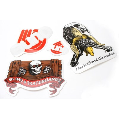 Mark Gonzales Skull Series Sticker Pack