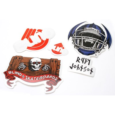 Rudy Johnson Jock Skull Sticker Pack