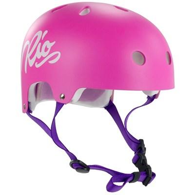 Script Helmet - Pink