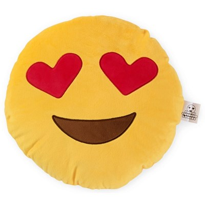 Love Bomb Heart Eyes Emoji Cushion