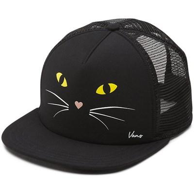 Lawn Party Trucker Cap - Black Cat V005KHP21