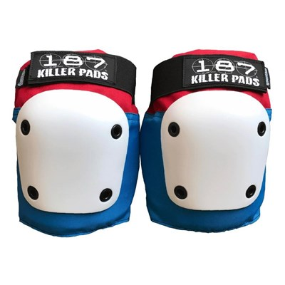 Fly Knee Pads - Red/White/Blue
