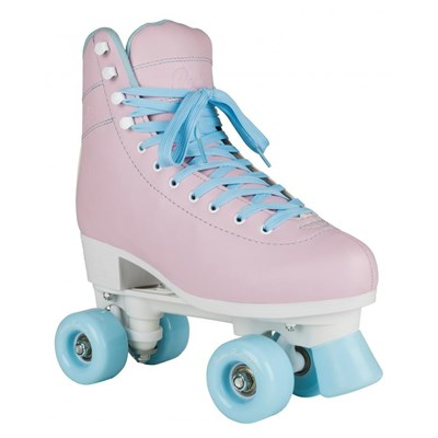 Bubblegum Quad Roller Skates - Pink