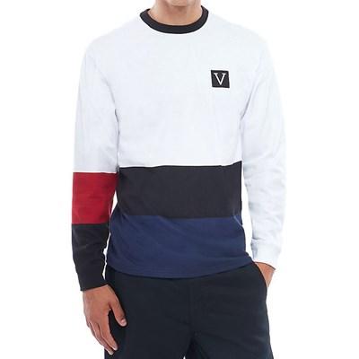 Chima Colorblock L/S T-Shirt - White VA3HBXWHT