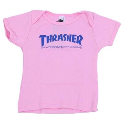 Skate Mag Infant Tee - Pink