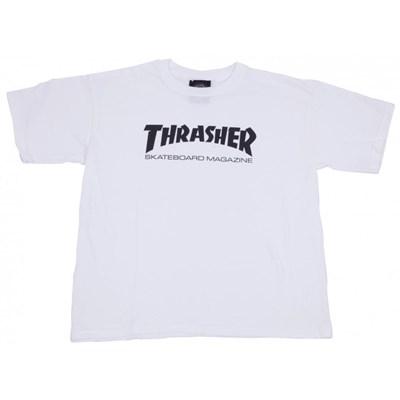 Skate Mag Youth S/S T-Shirt - White