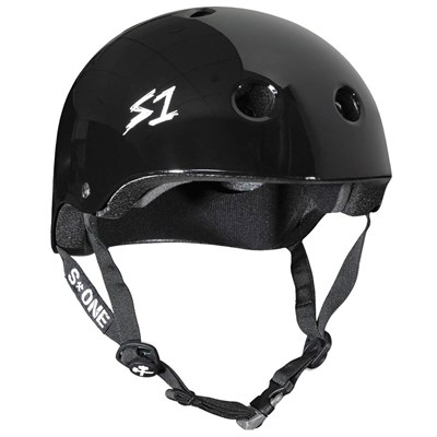 Mega Lifer Helmet - Black Gloss